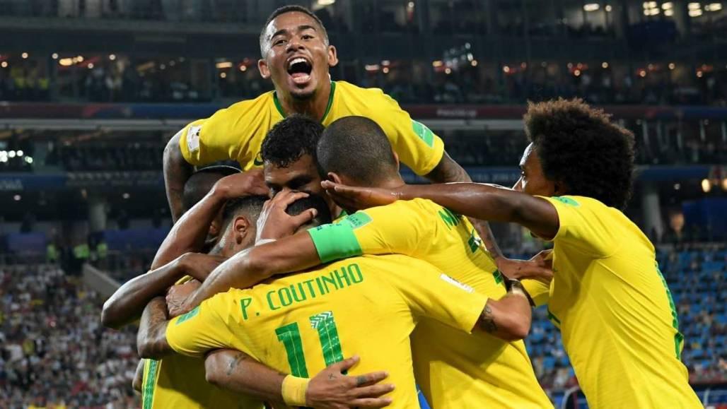 Uniforme oficial seleção Brasil CBF