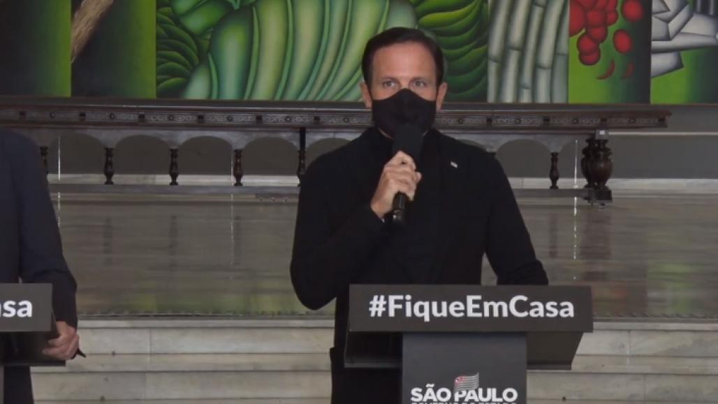 João Doria - fim quarentena - Governo SP (GovernoSP)