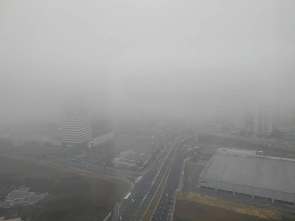 Previsão do tempo neblina SJC - Samuel Strazzer (Samuel Strazzer/Meon)