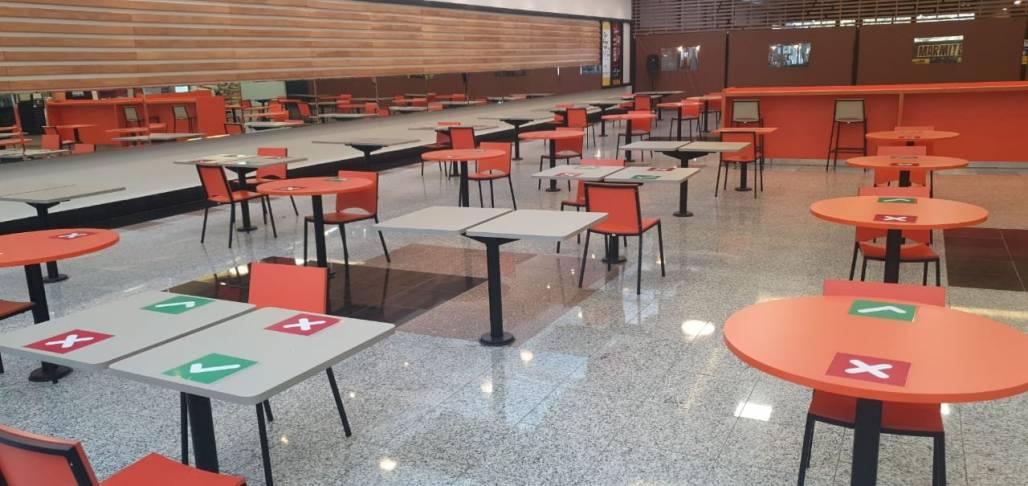 Praça de alimentação Shopping Jardim Oriente (Divulgação)