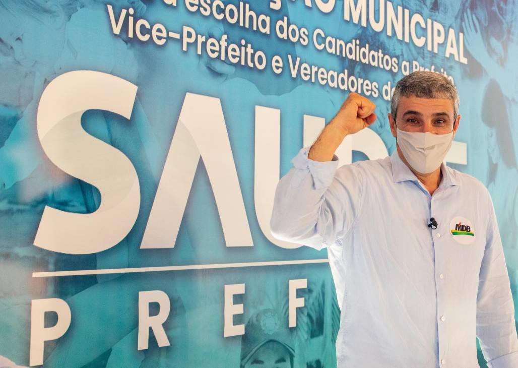 José Saud MDB Taubaté (Divulgação/MDB)
