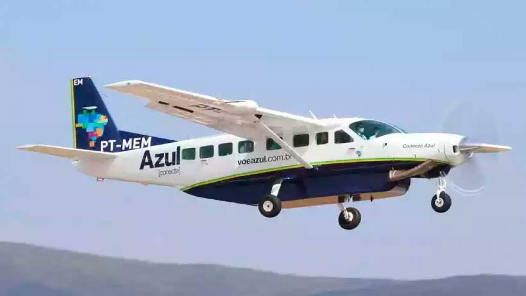 Cessna Azul (Divulgação)