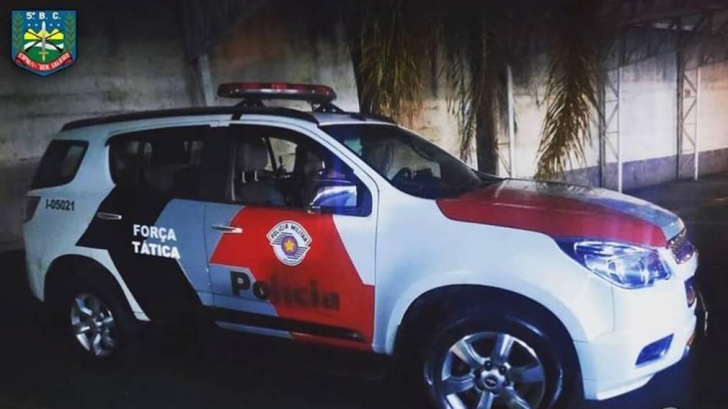 Viatura PM Policia Militar  (Divulgação PM)