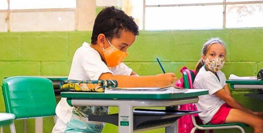 Aulas pandemia sala de aula (Reprodução / Governo SP)