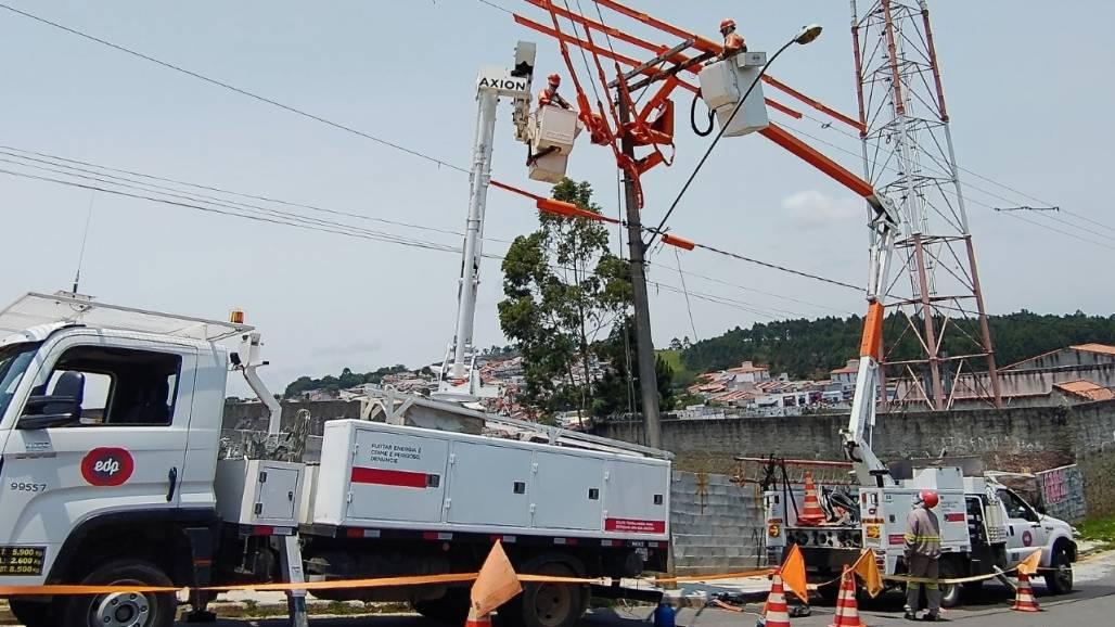 nova estação de energia em São Sebastião (Divulgação)