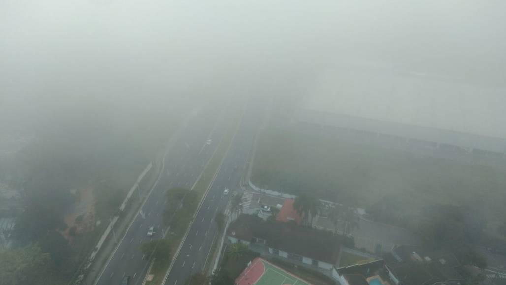Neblina (Foto: Fernanda Niquirilo/Portal Meon)
