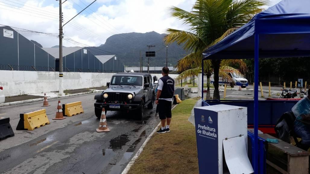 Controle de Acesso ilhabela (Foto: Divulgação/PMI)