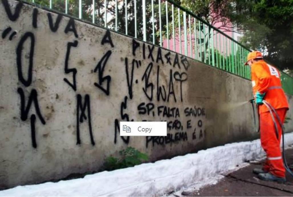 piche no muro (Foto: Reprodução)