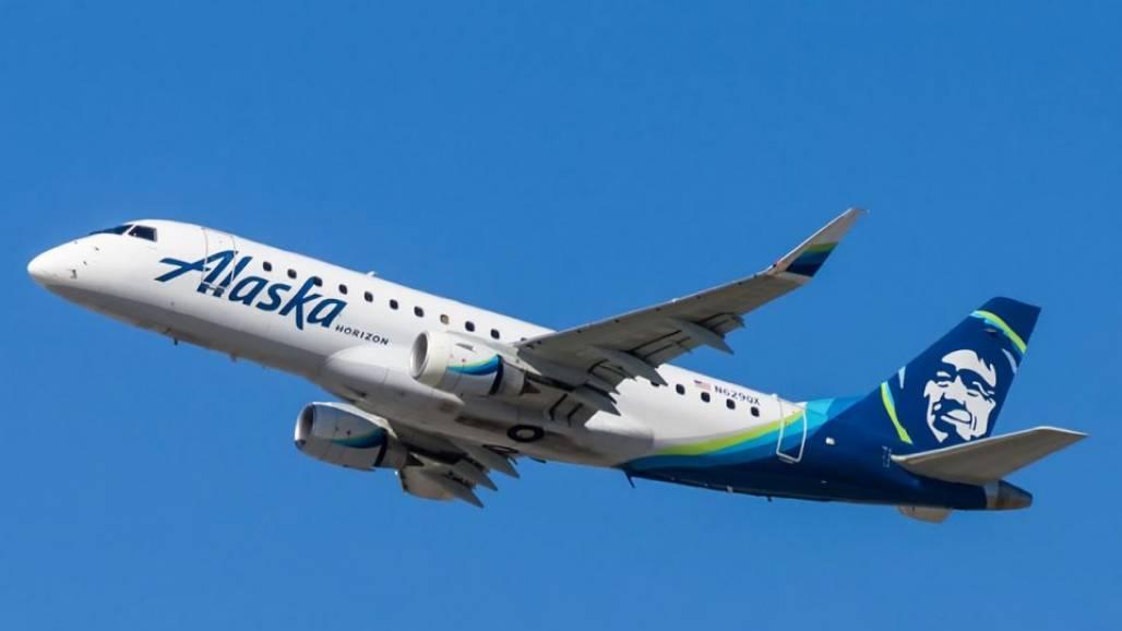 avião alaska (Foto: Colin Brown)