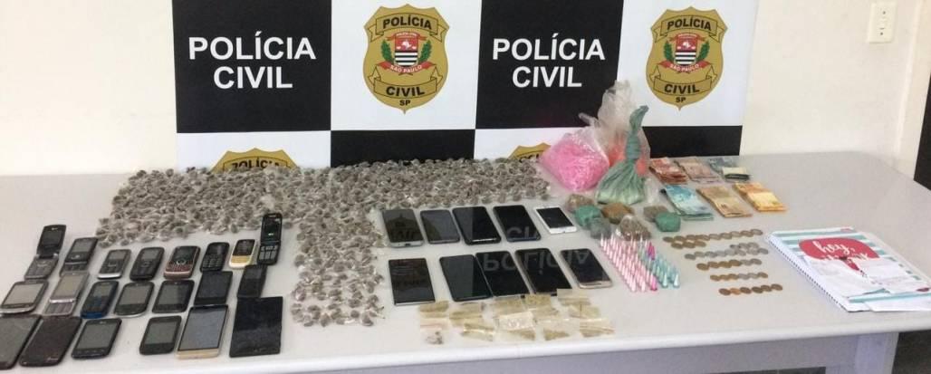 operação contra tráfico em Campos 2 (Foto: Divulgação/Polícia Civil)