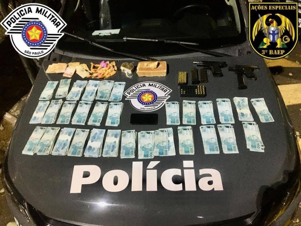 droga apreendida em taubaté  (Foto: Divulgação/Polícia Militar)