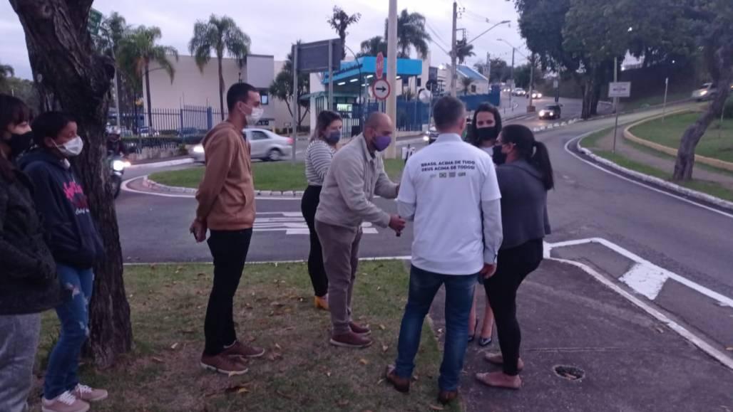 Manifestação Contra a Pedofilia SJC (Contribuição/Stenio Xavier da Cunha)