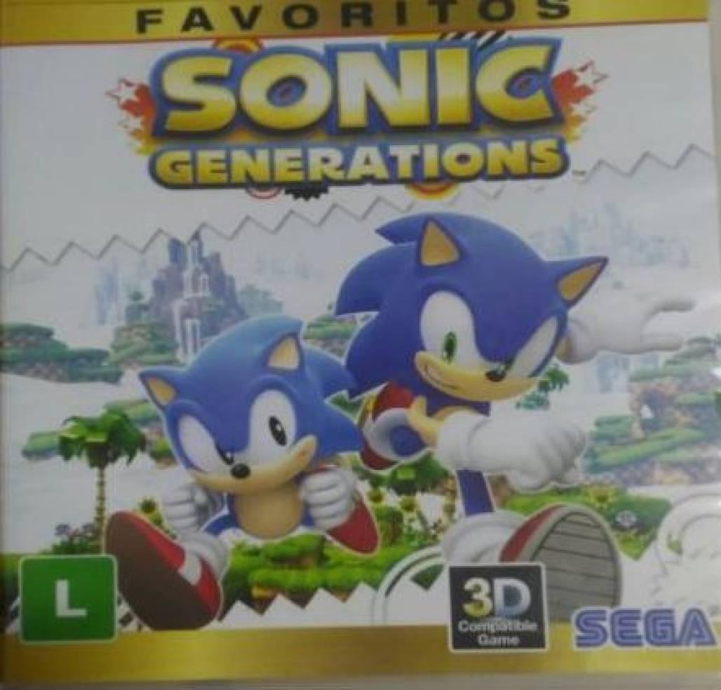 Sonic capa (Foto: Reprodução)