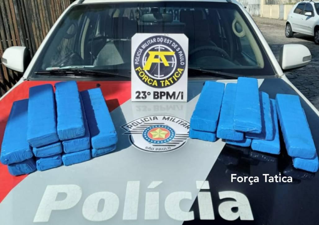Drogas, maconha - PM (Polícia Militar / Divulgação)