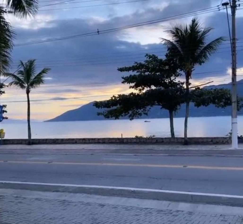 tempo 08.06 - litoral  (Foto: Amanda Sant'Anna )