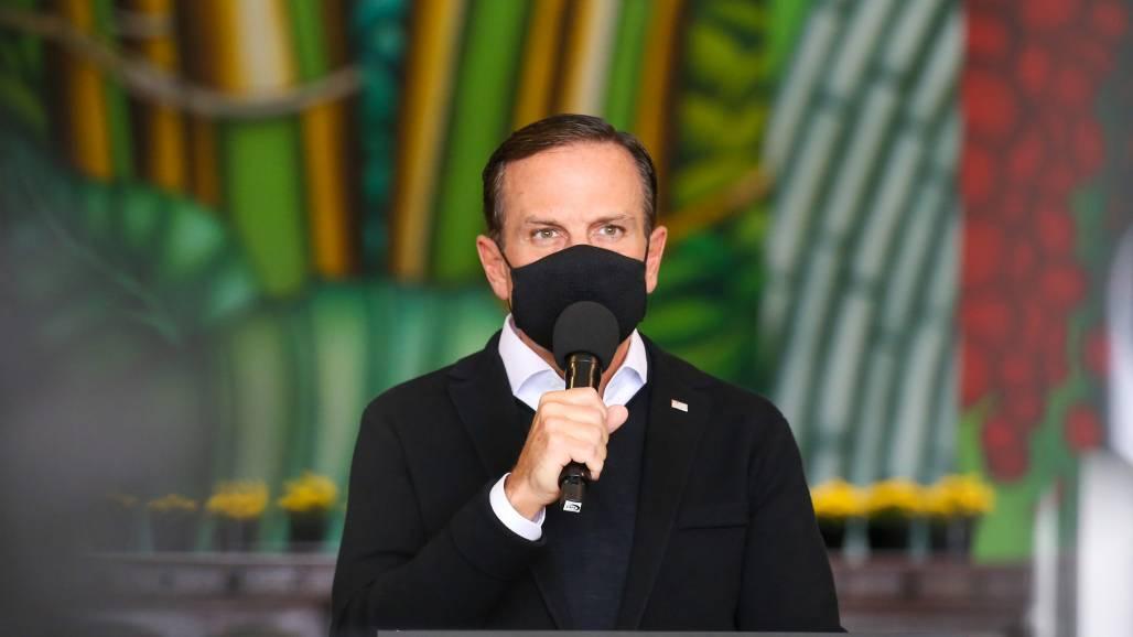 Governador João Doria (Divulgação/Governo SP)