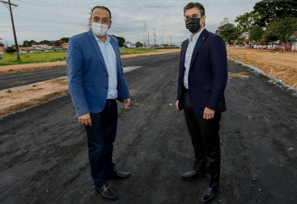 Felício e vice-governador - foto do Governo do Estado (Governo do Estado de SP)