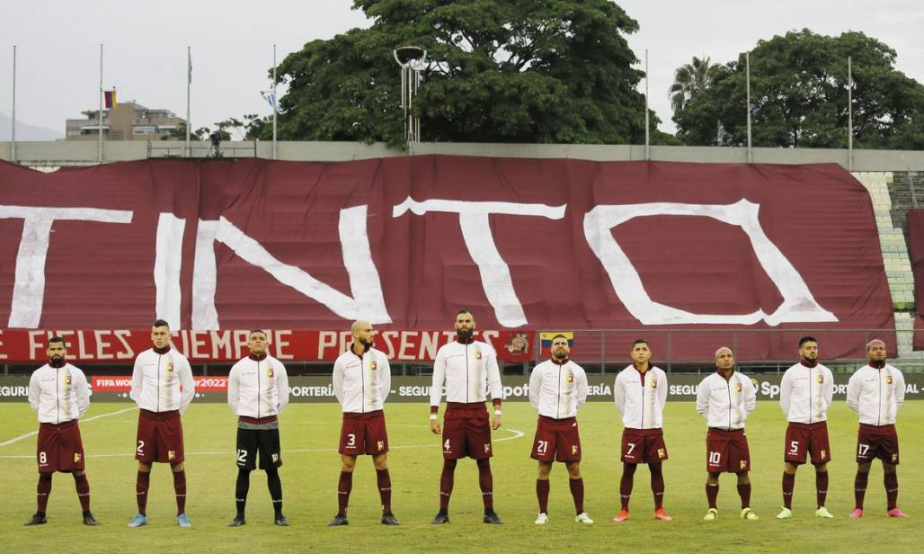 seleção venezuela (Foto: Manaure Quintero)