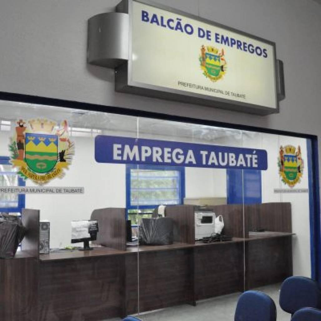 Balcão de emprego Taubaté (Foto: Divulgação/ PMT)
