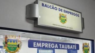 Balcão de emprego Taubaté