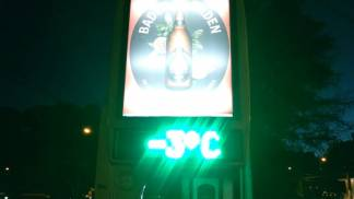 Frio e geada em Campos do Jordão