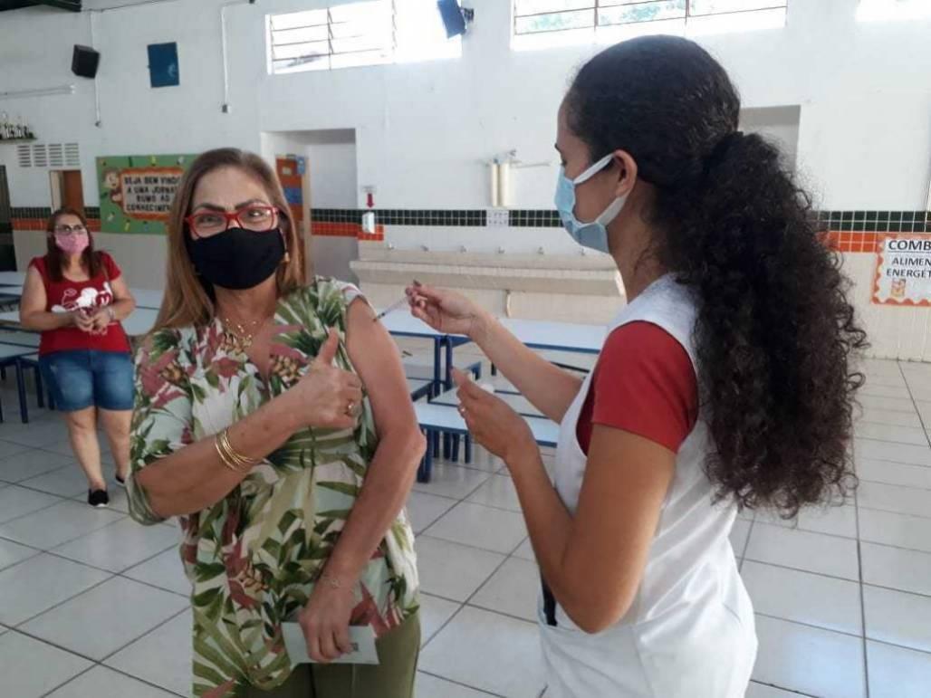 Vacina Taubate (Foto: Divulgação/PMT)