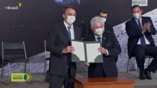 Brasil assina acordo com a Nasa para missão Lua 01