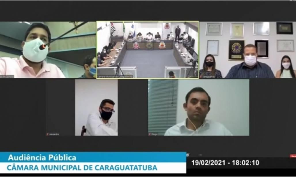 camara online CARAGUÁ (Foto: Divulgação/PMC)