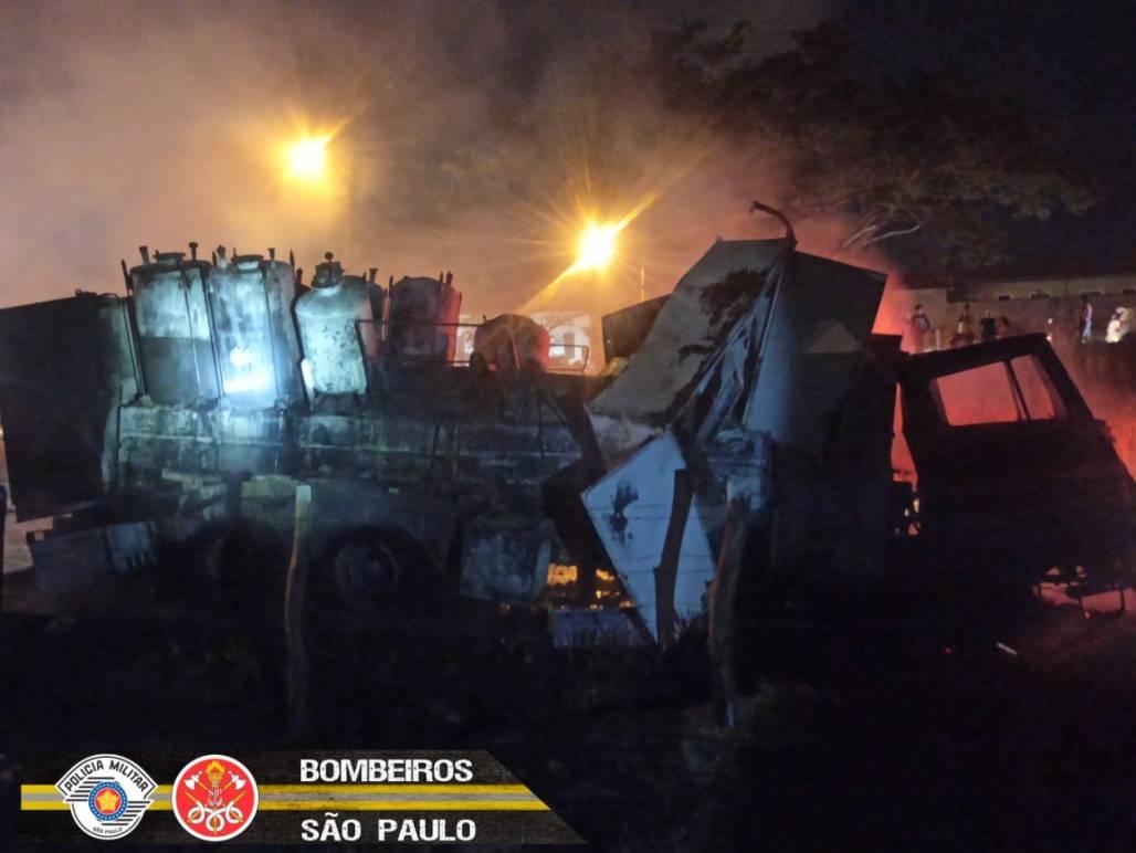 Caminhão de bombeiros 6 (Corpo de Bombeiros do Estado de SP)