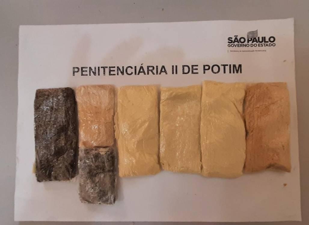 apreensao drogas potim (Foto: Divulgação/ SAP)