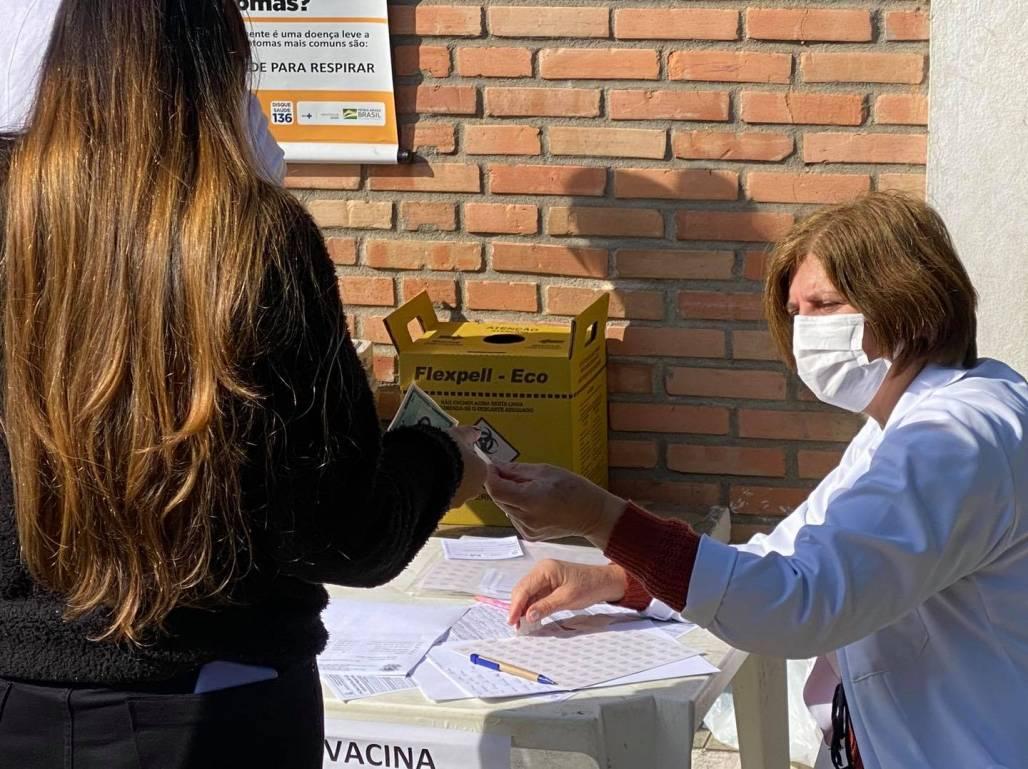 Vacinação Queluz (Divulgação / Prefeitura de Queluz)