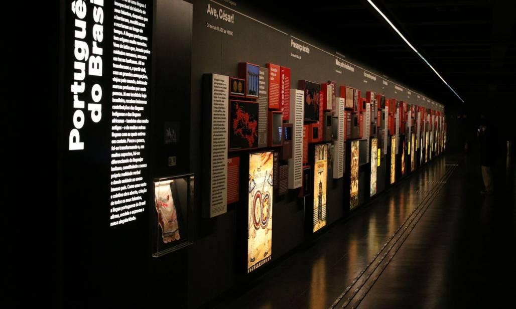 Museu da Língua Portuguesa - Rovena Rosa Agência Brasil (Rovena Rosa / Agência Brasil)