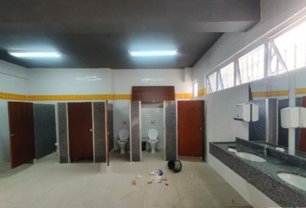 Ginásio de São Sebastião vítima de vandalismo 3 (PMSS)