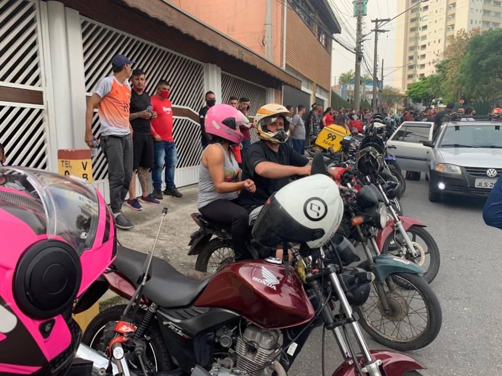 Greve em SJ dos motoboys (Meon)