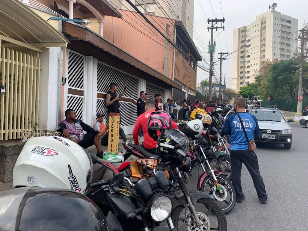 Greve em SJ dos motoboys 5 (Meon)