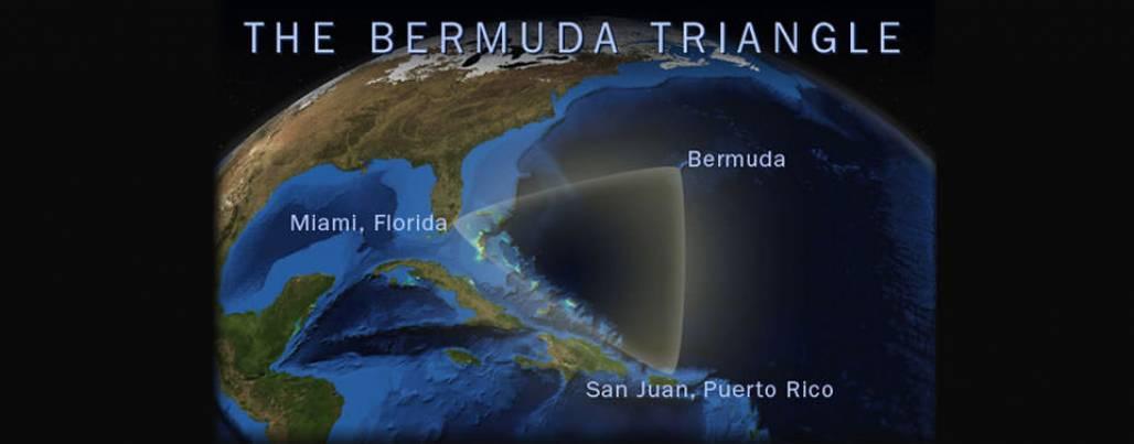 Triangulo das bermudas (Imagem de satélite)