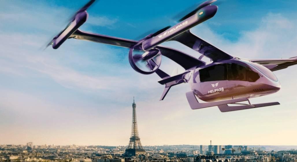 Carro voador elétrico França (Divulgação / Embraer)