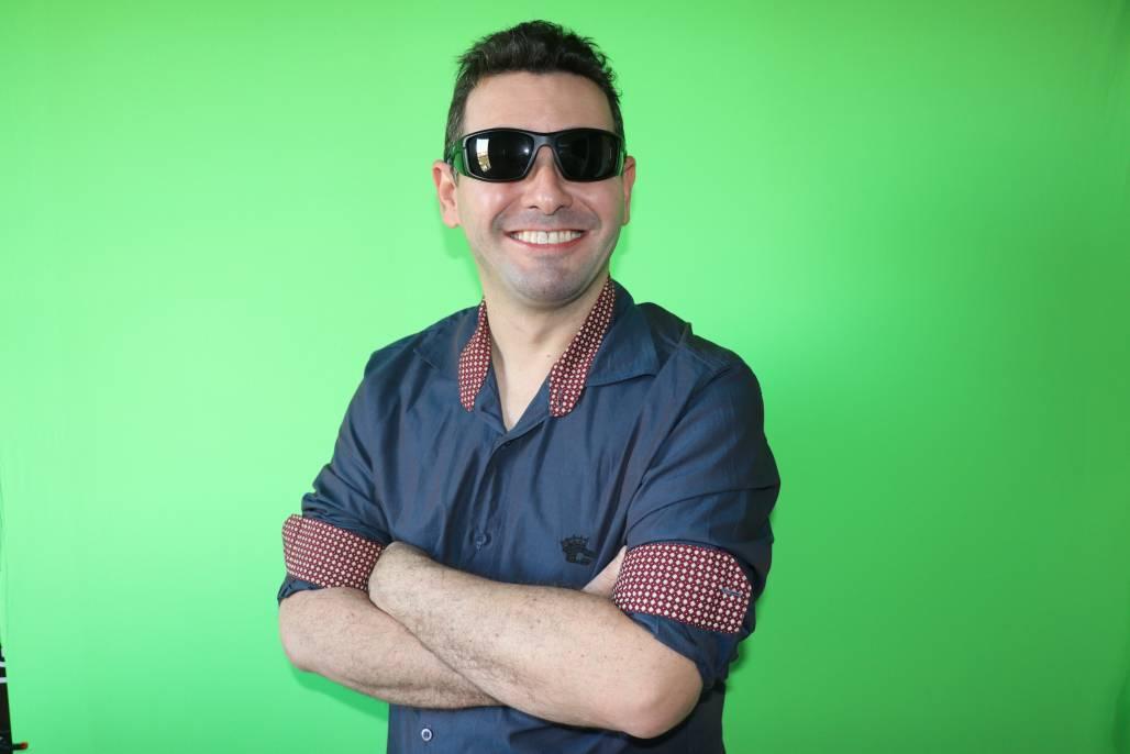 Mateus Lima – Professor e pessoa com deficiência visual (Arquivo Pessoal)