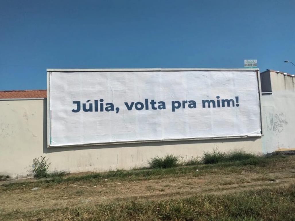 Júlia volta pra mim (Rafael Cézar/Arquivo pessoal)