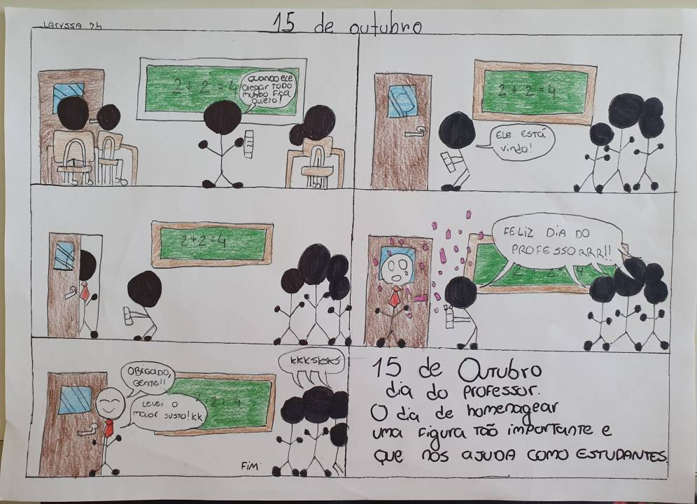 Desenho da aluna