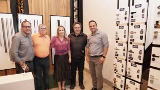 Fabio Germanetti , Luiz Carlos Guedes, Silneia Diniz, Cássio Rouca e Samuel Diniz